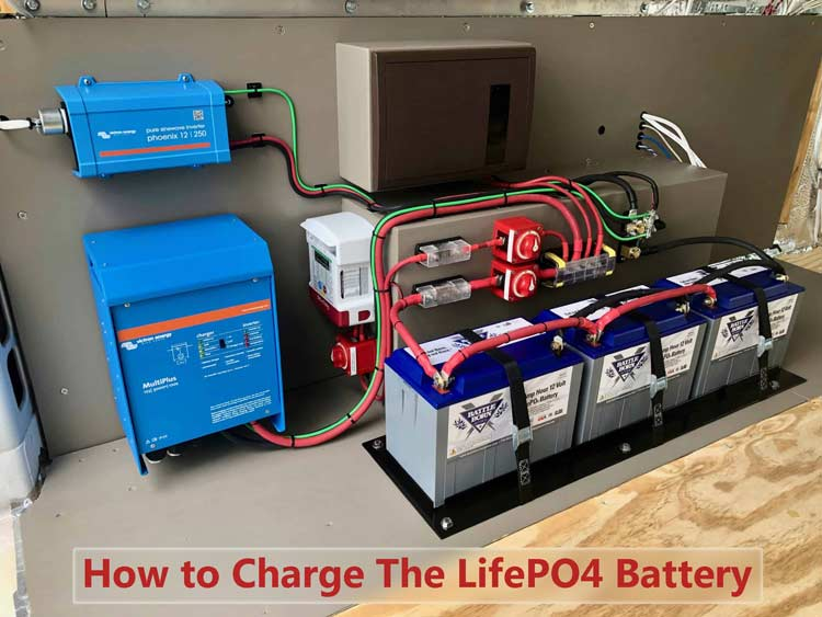How to charge the LiFePO4 battery